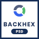 Backhex - Startup & Crowdfunding PSD Template - ThemeForest Item for Sale