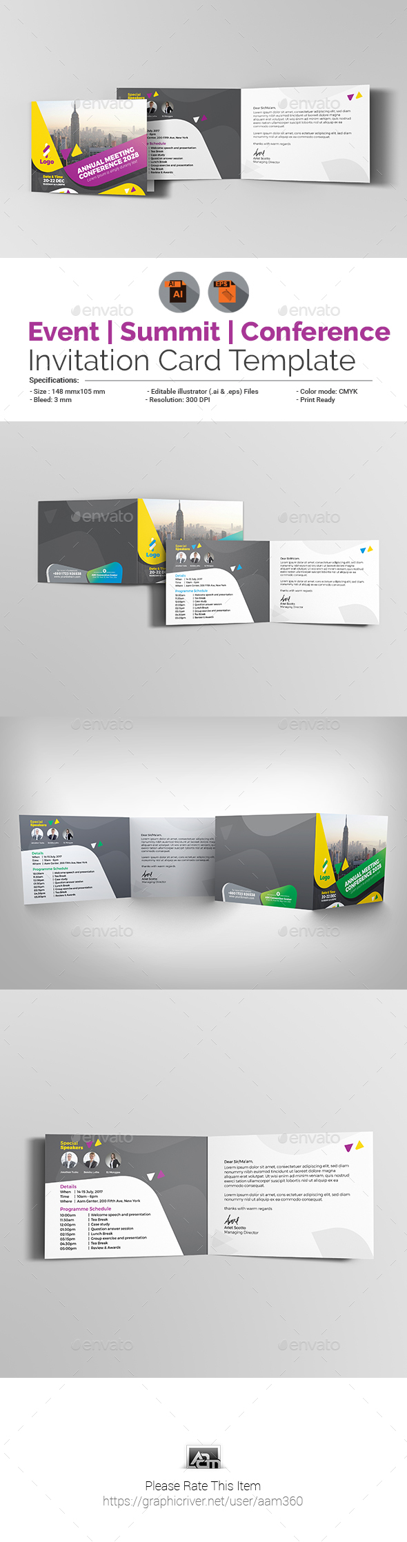 Annual Meeting Graphics Designs Templates From Graphicriver