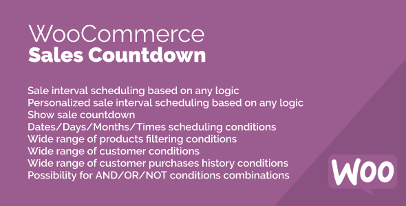 Sales Countdown for WooCommerce
