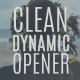 Clean Dynamic Opener - VideoHive Item for Sale