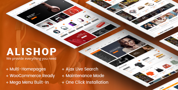 AliShop - Multipurpose WooCommerce WordPress Theme