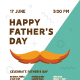 Father's Day Poster Template - GraphicRiver Item for Sale