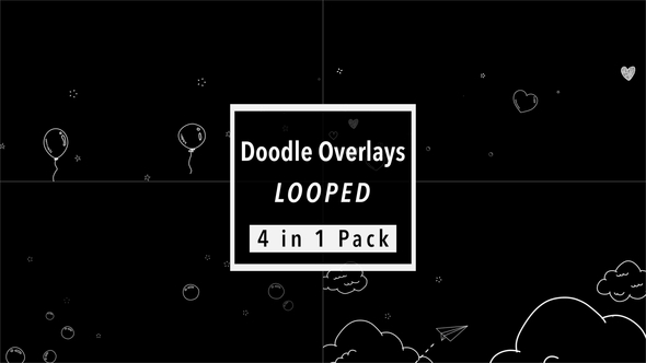 Doodle Overlays Pack by tykcartoon