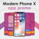 Modern Phone X App Promo - VideoHive Item for Sale