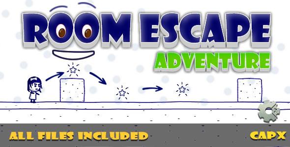 Room Escape (CAPX & HTML) Game!