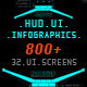 HUD Pack 800+ - VideoHive Item for Sale