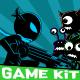 Ninja Shadow Silhouette-Themed Game Kit Bundle - GraphicRiver Item for Sale