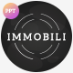 Immobili Powerpoint Template - GraphicRiver Item for Sale