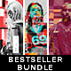 3 in 1 Bestseller Square Graphic Photoshop Actions Bundle - GraphicRiver Item for Sale