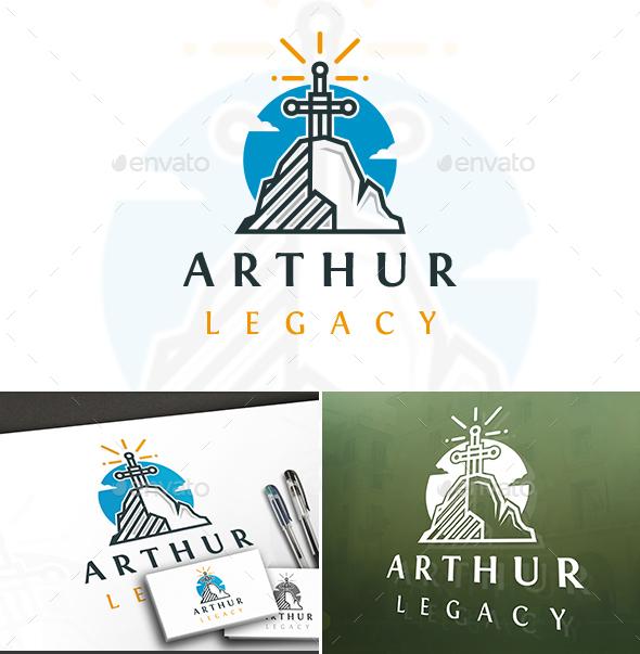Arthur King Stone Logo