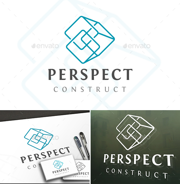 Perspective Cubes Logo