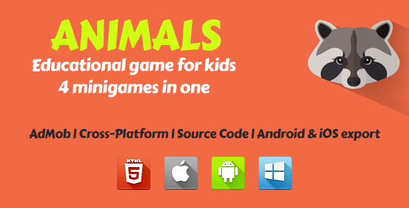 Animals - Educational Game For Kids Download