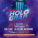 Holograp Flyer - GraphicRiver Item for Sale