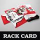 Interior Rack card DL Flyer Design Template - GraphicRiver Item for Sale