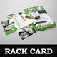Healthcare Rack card DL Flyer Design Template - GraphicRiver Item for Sale