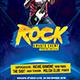 Rock Concert v2 Flyer - GraphicRiver Item for Sale