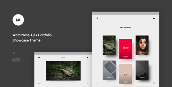 Wizzaro - WordPress Ajax Portfolio Showcase Theme