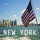 US Flag and New York - VideoHive Item for Sale