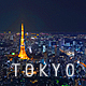 Tokyo Night Skyline Timelapse - VideoHive Item for Sale