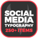 Instagram Stories Typography - VideoHive Item for Sale