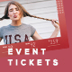 Event Tickets Template 33 - GraphicRiver Item for Sale