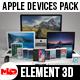 Apple Devices Mega Pack - Element 3D - 3DOcean Item for Sale