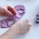Women's Hands Create a Textile Product, Toy, Pattern - VideoHive Item for Sale