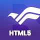 Bravapp - Game App HTML5 Template - ThemeForest Item for Sale
