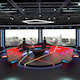Virtual TV Studio Chat Set 2 - 3DOcean Item for Sale