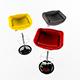 Bar stool design - 3DOcean Item for Sale