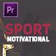Sport Motivational Opener - VideoHive Item for Sale