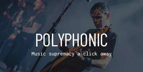 Polyphonic - A Theme for Musicians & Artists