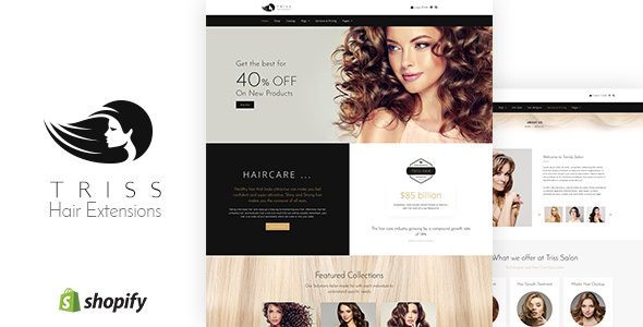 Triss - Salon & Barber Store Shopify Theme