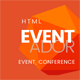 Eventador - Premium Event, Conference & Meeting Landing Pages Pack - ThemeForest Item for Sale