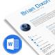 Minimal Resume Template - GraphicRiver Item for Sale