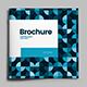 Square Blue Circles Brochure - GraphicRiver Item for Sale