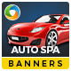 Car Detailing HTML5 Banners - 7 Sizes
