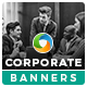 Corporate HTML5 Banners - 7 Sizes