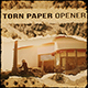 Torn Paper Opener - VideoHive Item for Sale