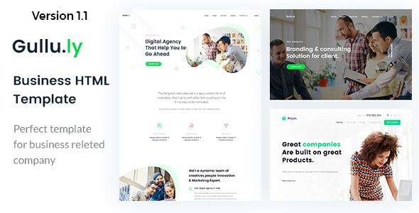 Gullu.ly – Creative Digital Agency & Multipurpose HTML Template