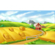 Farm Landscape Panorama - GraphicRiver Item for Sale