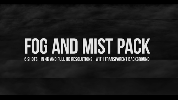 Fog and Mist Pack by MotionAll