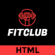FITCLUB - Gym and Fitness Landing Page HTML - ThemeForest Item for Sale