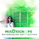 MixDxign Watercolor Art   PS Action - GraphicRiver Item for Sale