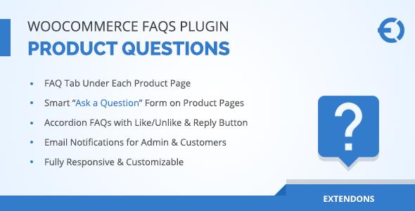WooCommerce FAQ Plugin - Product FAQ Tab + Store FAQ Page