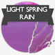 Light Spring Rain - AudioJungle Item for Sale