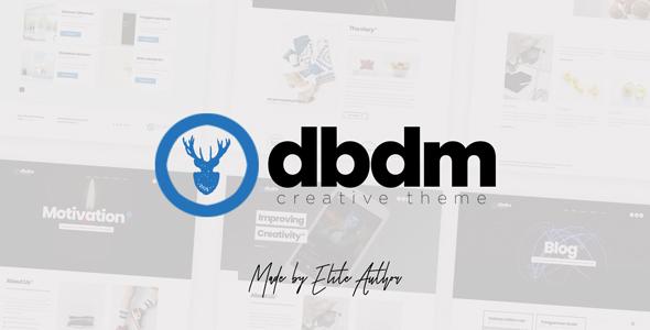 Dubidam - Creative Multi Concept & One Page Portfolio Theme