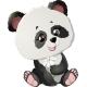 Panda Bear Illustrations - GraphicRiver Item for Sale