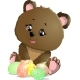 Easter Bear - GraphicRiver Item for Sale