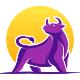 Purple Bull - GraphicRiver Item for Sale